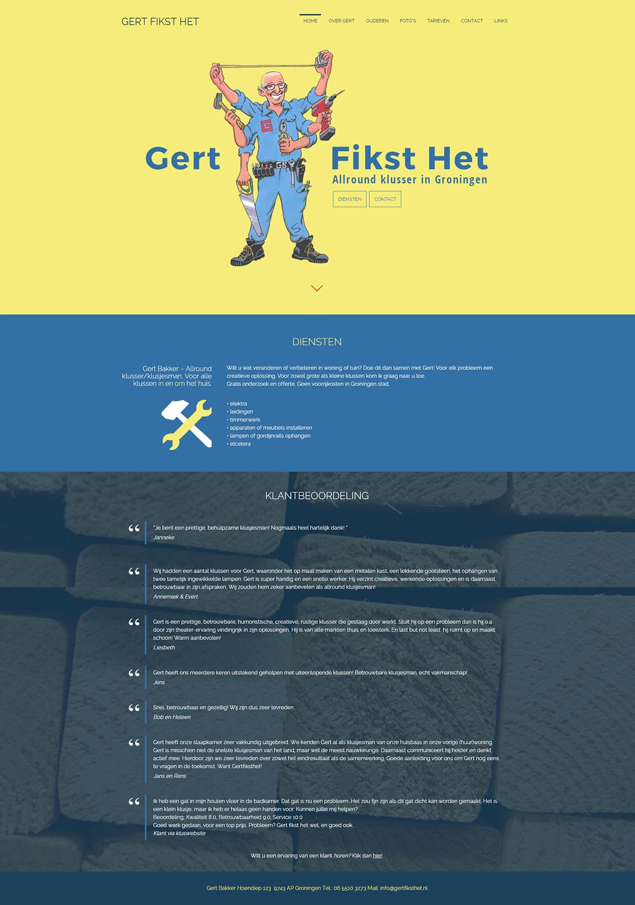Gert Fikst Het - Homepagina